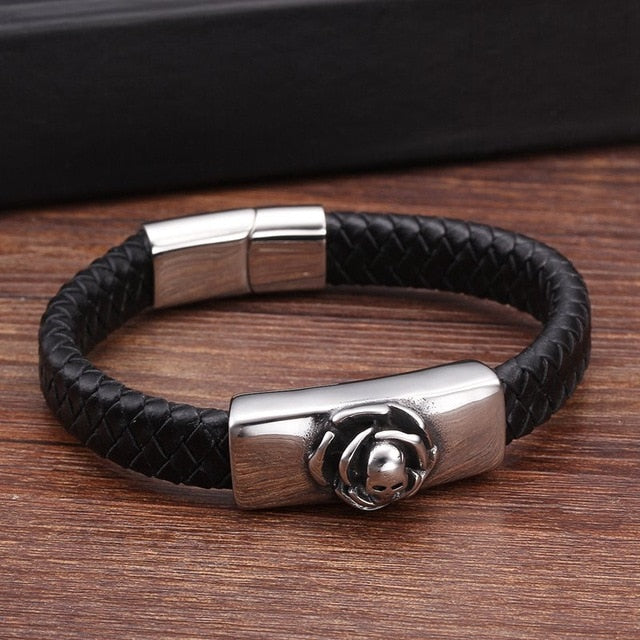 Unique Rose Men Bracelets