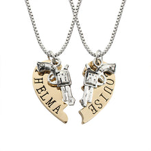 Load image into Gallery viewer, Fashion Heart Gun Steampunk Necklaces
