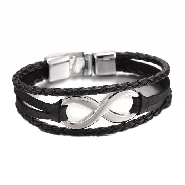 High Quality shaped Leather Bracelet