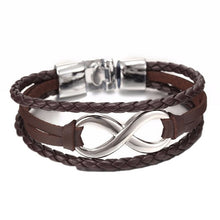 Load image into Gallery viewer, High Quality shaped Leather Bracelet