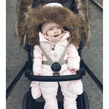 Load image into Gallery viewer, Baby Winter Clothes Girl Romper Warm Jumpsuit