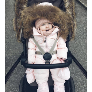Baby Winter Clothes Girl Romper Warm Jumpsuit