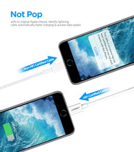 Load image into Gallery viewer, USB Cable for iPhone Xs Max Lightning USB Fast Charging Data Cable for iPhone USB Charger Cord