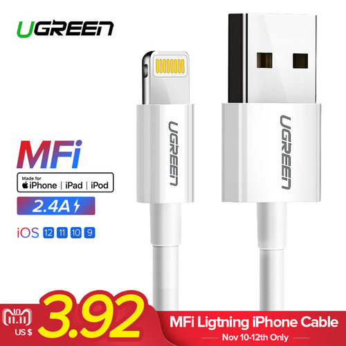 USB Cable for iPhone Xs Max Lightning USB Fast Charging Data Cable for iPhone USB Charger Cord