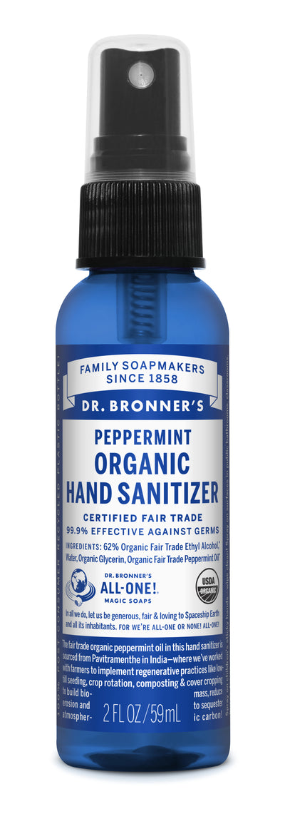 Organic Hand Sanitizer - peppermint-organic-hand-sanitizer