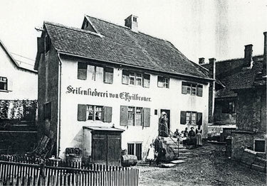 1858 - Soapmaking begins in Heilbronner home—Jewish quarter, Laupheim, Germany.