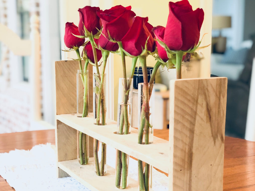 Reclaimed Pallet Wood Centerpiece