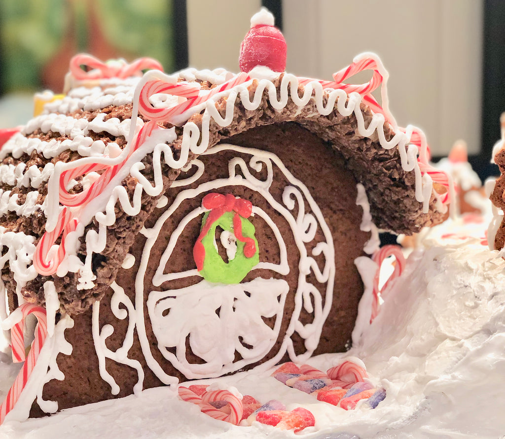 A Different Take on Gingerbread Houses