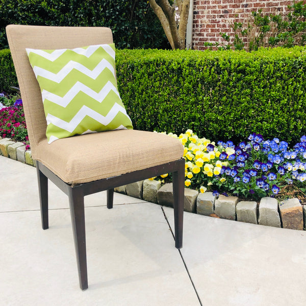 Refurbished Allen+Roth Outdoor Dining Chair-Upholstered