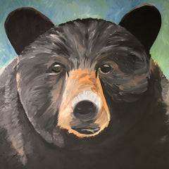 Bear Painting by Beth Williams