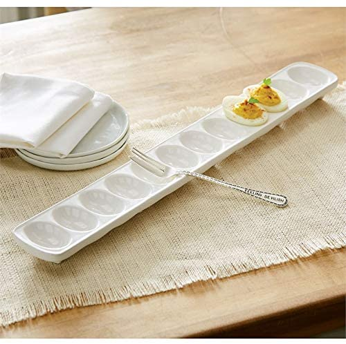 Mud Pie Deviled Egg Tray Set-Long