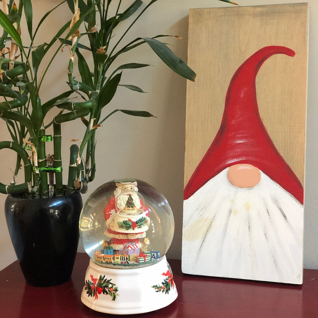 Christmas Art- Small Gnome