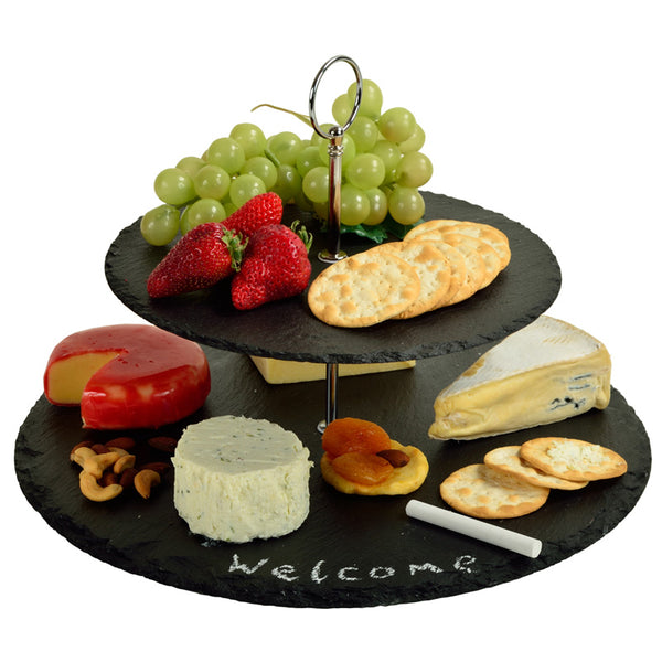Two Tier Slate Cheese Board