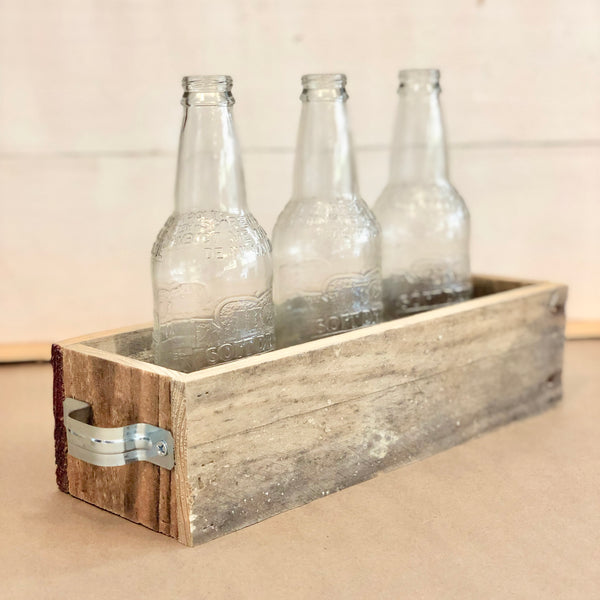 Natural Reclaimed Centerpiece with Handles