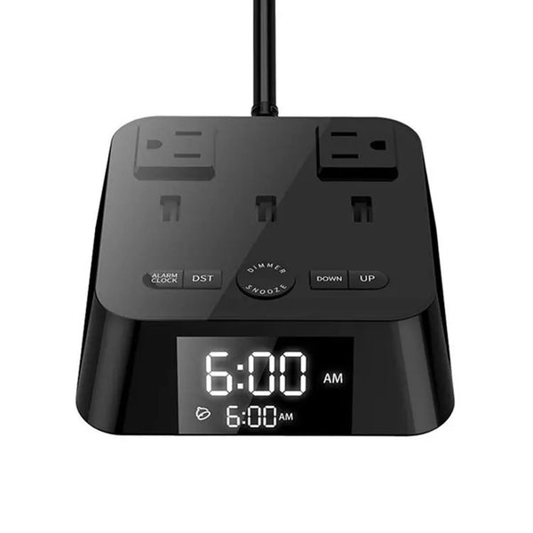Hotel Digital Alarm Clock Charging Station