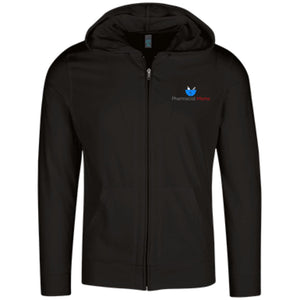 Pharmacist Moms Group Lightweight Full Zip Hoodie