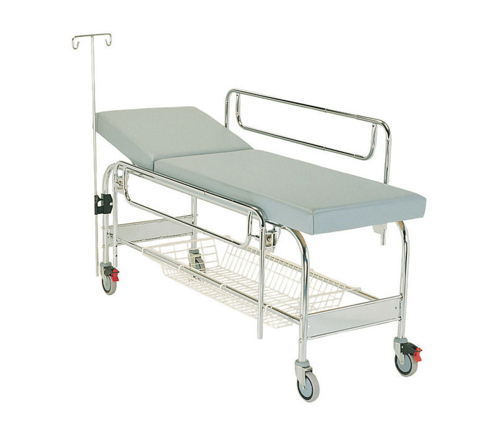 Mobile Examination Bed #1005 IV POLE STAINLESS STEEL