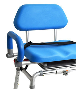 Transfer Bench – Sliding + Swivel Bench