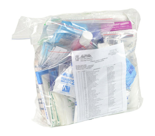 4WD & Camping First Aid Kit - Refill