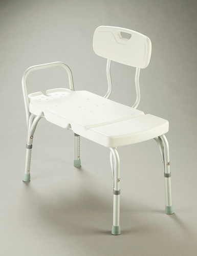 Bath or Shower Transfer Bench – with Backrest
