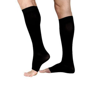 Compression Stockings – Black, Class I