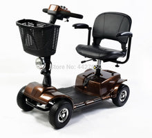 Load image into Gallery viewer, New design  foldable speed 0-12km per hour  electric four-wheeled electric wheelchair for disable and elder