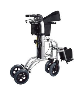 Wheelchair/Rollator – FUSION 2 IN 1 – Hero