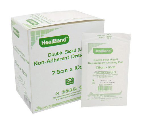 Healband Double Sided Non-adherent Dressing Pads