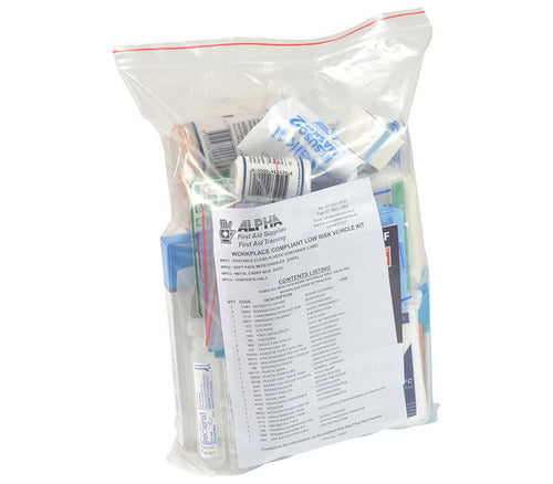 Workplace Vehicle First Aid Kit - Refill