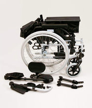 Load image into Gallery viewer, Breezy BasiX 2 Folding Wheelchair