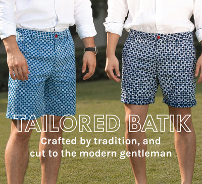 Tailored Batik Crafted by tradition, and cut to the modern gentleman