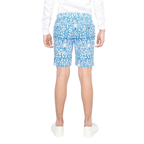 Riviera Blue Relaxed Wallace Shorts