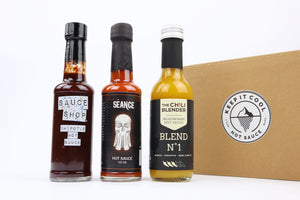 Hot sauce kado abonnement (3x een box)