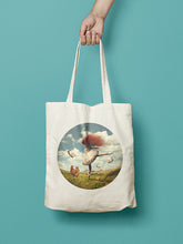 Load image into Gallery viewer, Red Cloud 29 Cotton Tote Bag