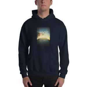 Life in A Fake World Hooded Sweatshirt