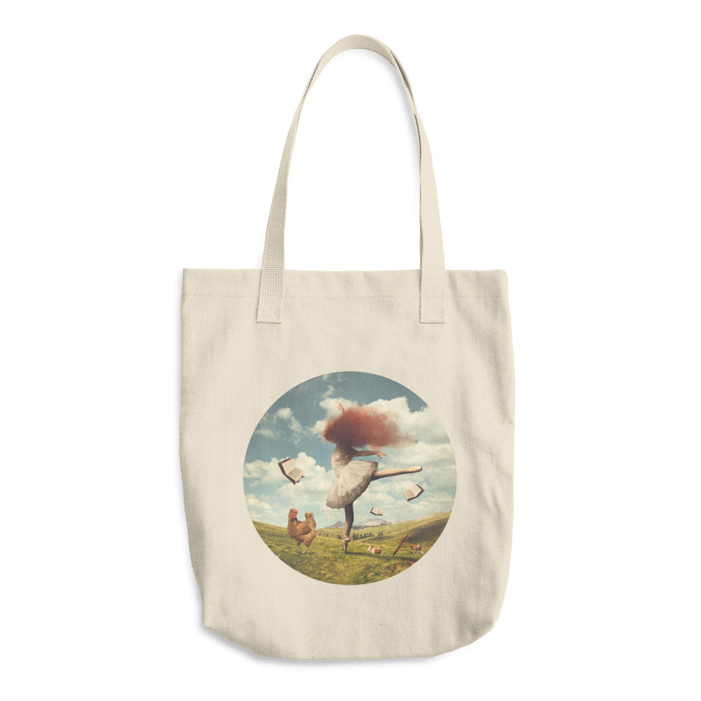 Red Cloud 29 Cotton Tote Bag
