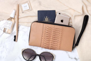 OVAE Wanderlust Travel Wallet Biscuit