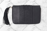 OVAE Betty Zip Wallet Black