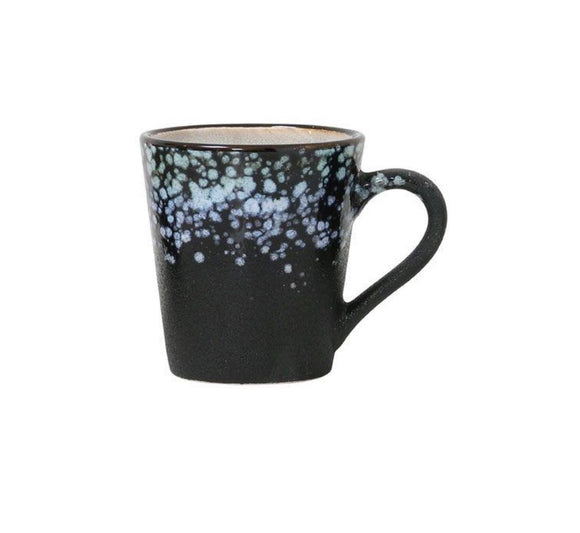HK LIVING 70s Ceramic espresso mug - Galaxy