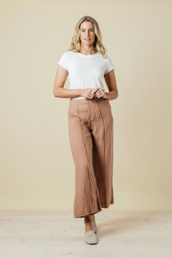 THE SHANTY CORP Nivarra Pants - Indian Tan