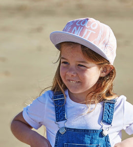 OURLIEU Coconut Peach Kids Cap