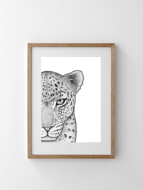 DOTS BY DONNA Luca the Leopard