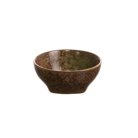 HK LIVING  Kyoto ceramics: brown bowl