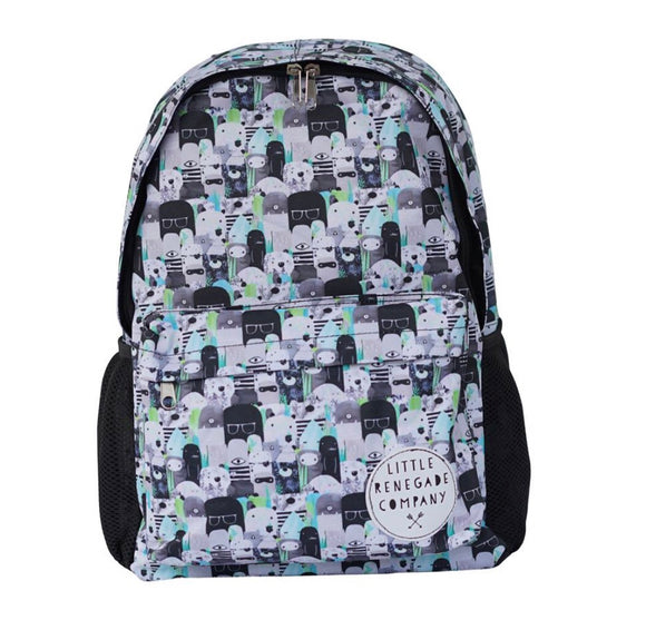 LITTLE RENEGADE Bears & Beasties Midi Backpack