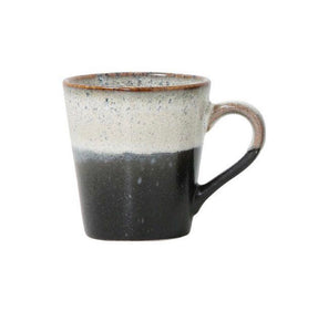 HK LIVING 70s Ceramic espresso mug - Rock