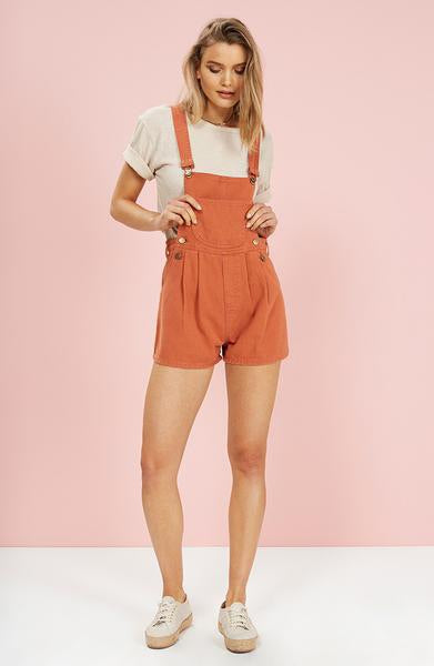 MINKPINK Coloured Denim Romper 60% OFF