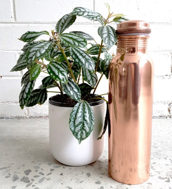 I AM THAT YOGA 900ml Copper Bottle - Smooth