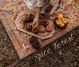 WANDERING FOLK // SPICE FOREST PICNIC RUG