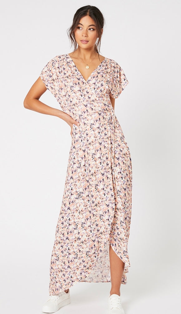 MINKPINK// Smudge Floral Maxi Dress