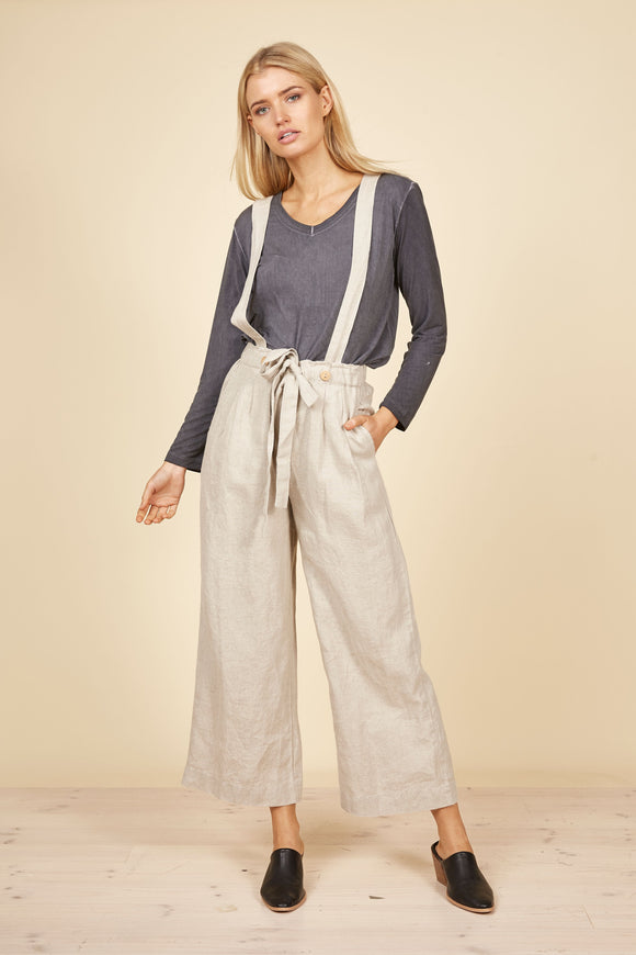 THE SHANTY CORP Oliver Pants/Overalls - Natural